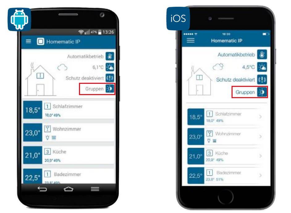 Screenshot App: Beschattungsprofil 5