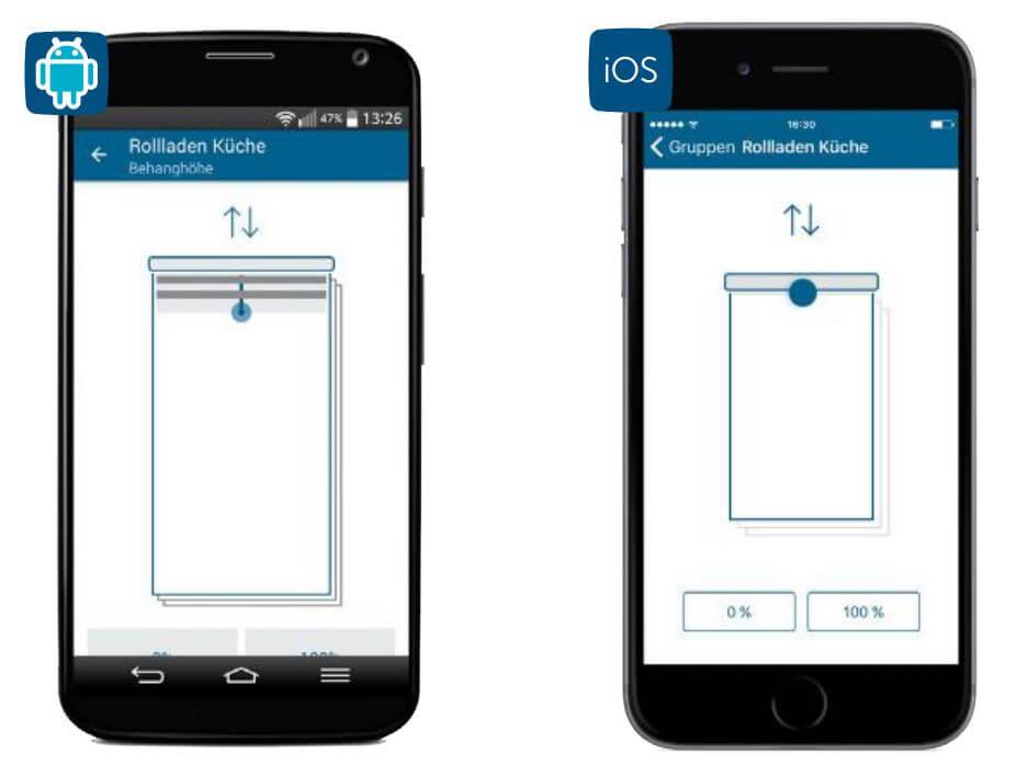 Screenshot App: Beschattungsprofil 6