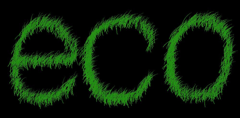 Energiesparen - Eco-Logo