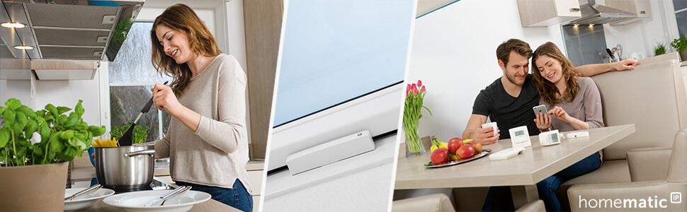 Die Tür-Fensterkontakte von Homematic IP - Title