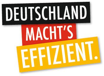 Logo - Deutschland macht's effizient.