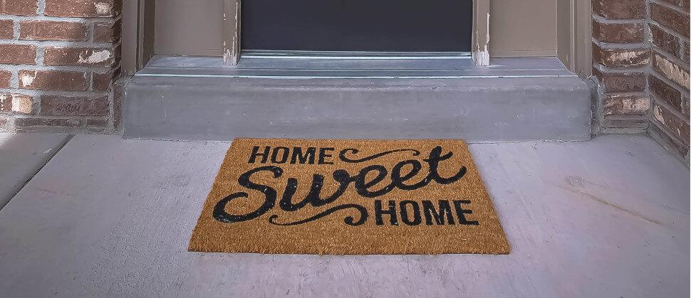 Willkommen zu Hause Licht