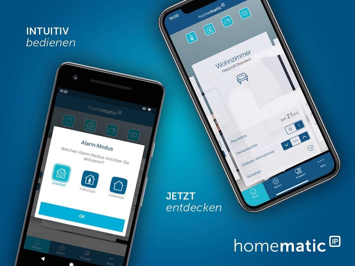 Die neue Homematic IP App
