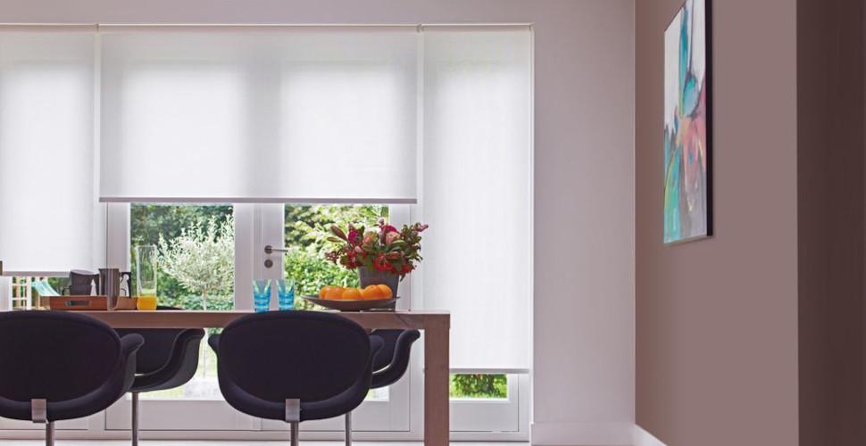 Die neuen Sonnenschutz-Rollos – Innen von erfal powered by Homematic IP