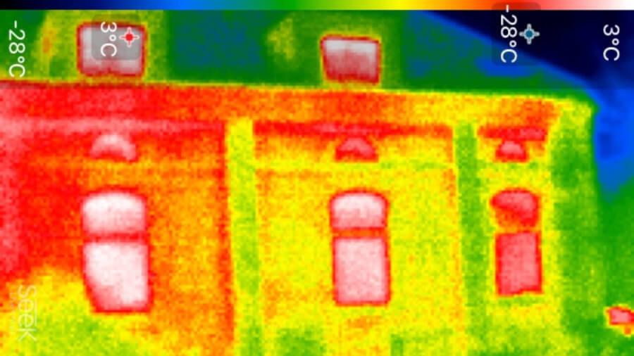 Nebenhaus 2 - Wärmebildkamera