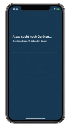 Alexa Gerätesuche
