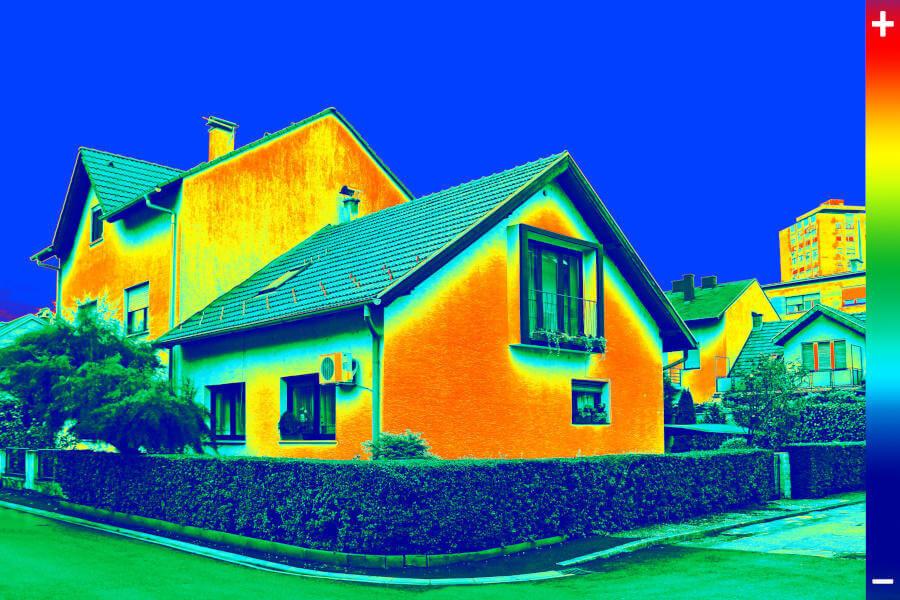 Wärmeverluste im Haus - Title