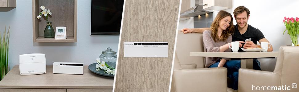 homematic ip fu bodenheizungsaktor 6fach 230v 142974. Black Bedroom Furniture Sets. Home Design Ideas