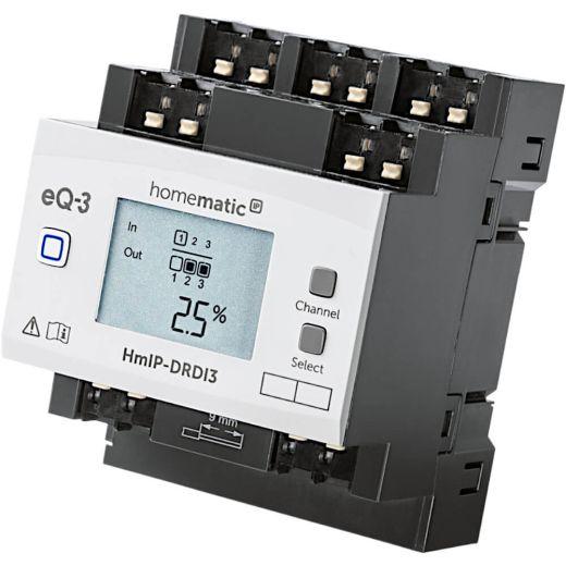 Homematic IP Dimmaktor für Hutschienenmontage - 3-fach