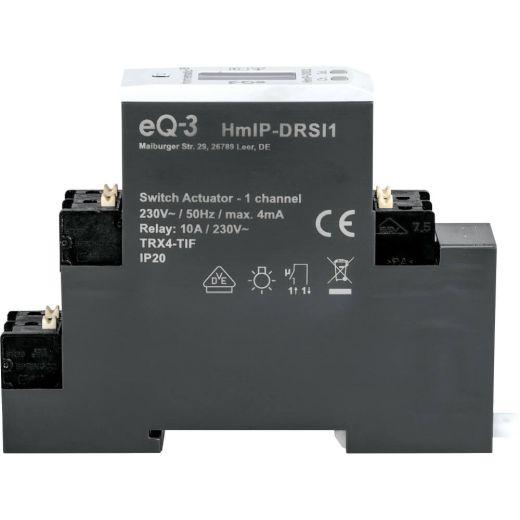 Homematic IP Schaltaktor für Hutschienenmontage - 1-fach