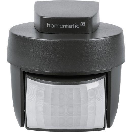 Homematic IP Bewegungsmelder mit Dämmerungssensor - außen, anthrazit