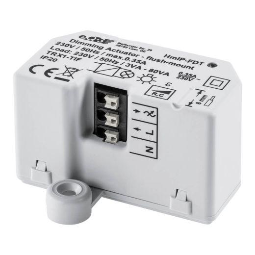 Homematic IP Dimmaktor Unterputz Phasenabschnitt