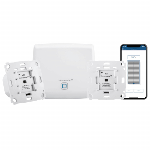 Homematic IP Rolladensteuerung Starter Set