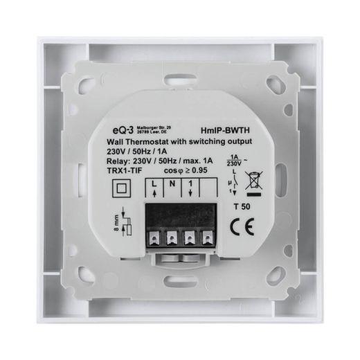Homematic IP Wandthermostat mit Schaltausgang - 230V