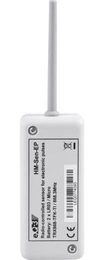 Funk-Sensor zur Messung elektrischer Impulse