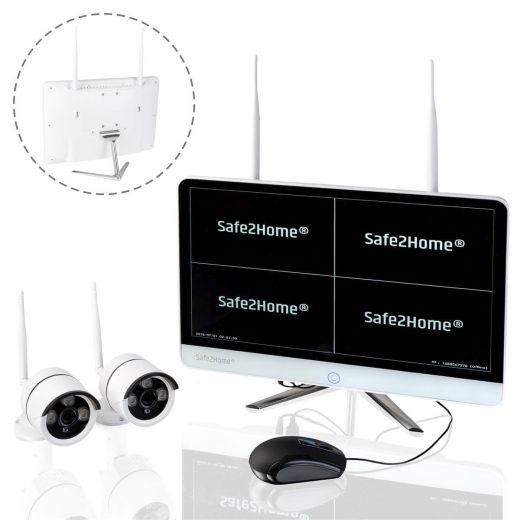 Safe2Home Überwachungssystem (Kameras und Monitor)