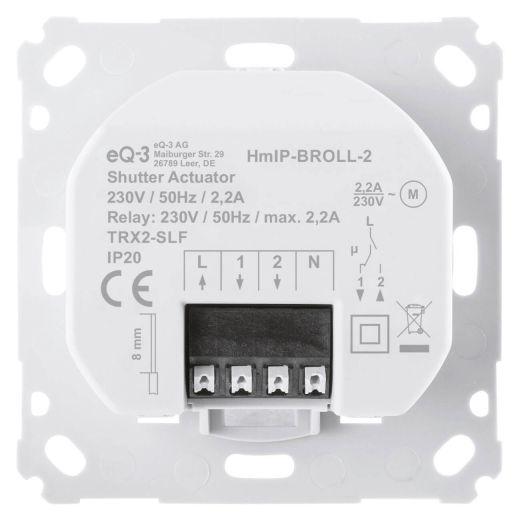 CCU3 Rolladensteuerung Komplettpaket für 4 Rolläden