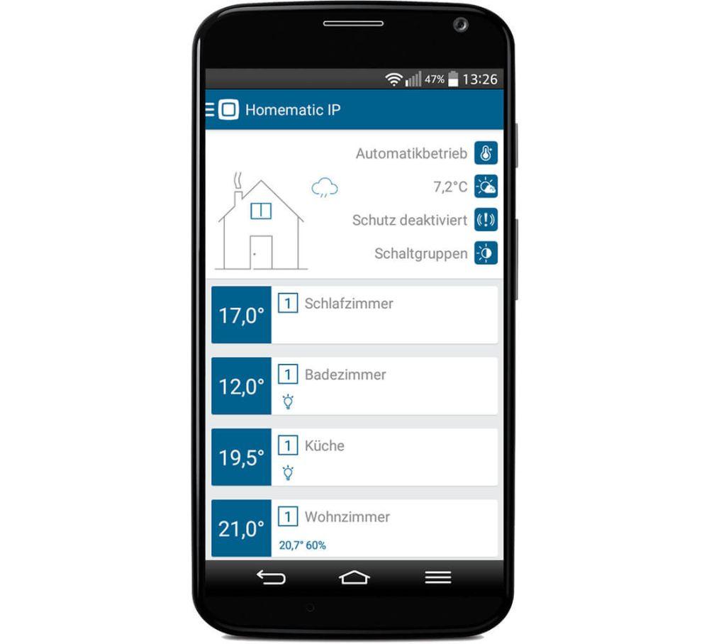 homematic ip app swalif. Black Bedroom Furniture Sets. Home Design Ideas
