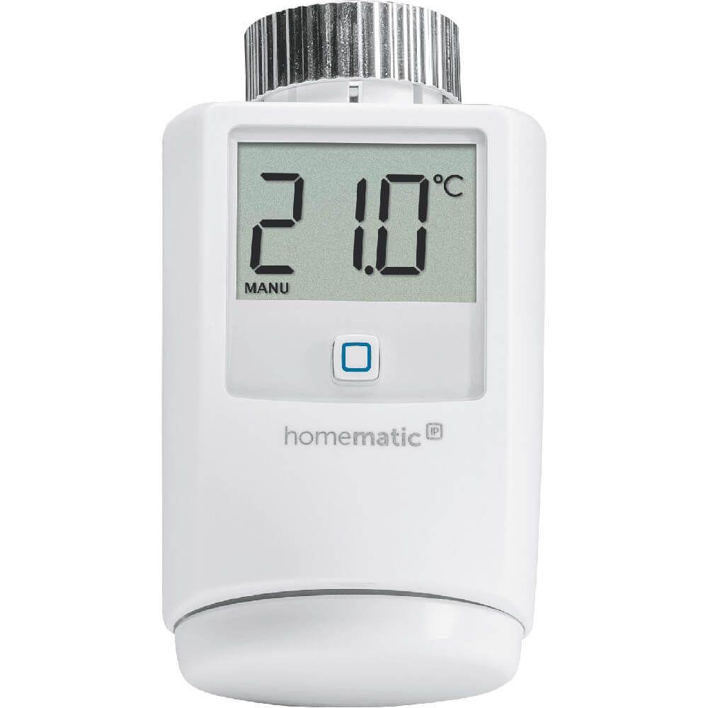 homematic ip heizk rperthermostat 140280. Black Bedroom Furniture Sets. Home Design Ideas