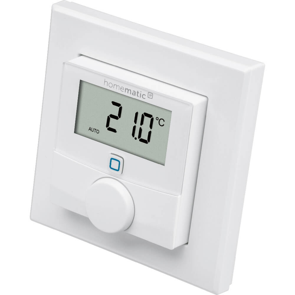 homematic ip funk wandthermostat 143159. Black Bedroom Furniture Sets. Home Design Ideas