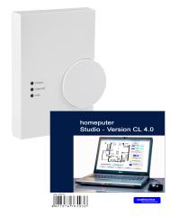 HomeMatic CCU2 mit homeputer Studio 4.0 Software