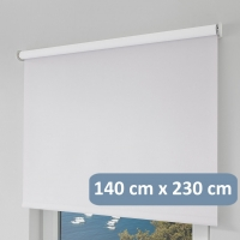 erfal SmartControl Homematic IP Rollo - 140 cm x 230 cm (B x H) - Blickdicht
