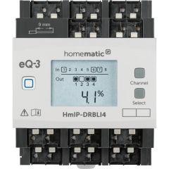 Homematic IP Jalousie-/Rolladenaktor für Hutschienenmontage - 4-fach