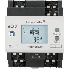 Homematic IP Schaltaktor für Hutschienenmontage - 4-fach