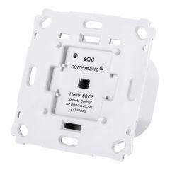 Homematic IP Wandtaster für Markenschalter - 2-fach