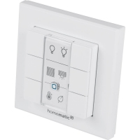 Homematic IP Wandtaster - 6-fach