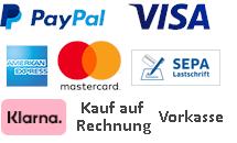 Homematic Zahlungsmethoden